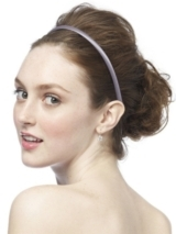 Dupioni Covered Headband in Charm