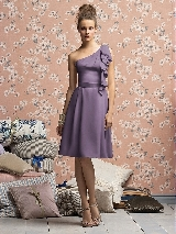 Lela Rose Bridesmaids Style LR140XX in wisteria