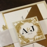 Gold Invitations, Gold Color Palette, Gold Wedding, Gold Wedding Decor, Wedding Trends 2013