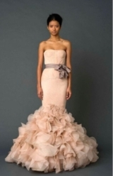 Vera Wang, Blush Wedding Gowns, Blush Wedding Color Palette, Wedding Trends 2013