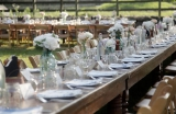 farm to table dinner wedding