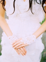 lace cuffs unique bridal accessories