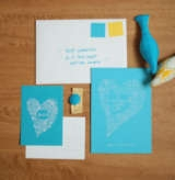 turquoise wedding invites