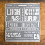 hatch show print invitation