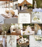 barn wedding elegant