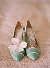 green wedding - elizabeth messina