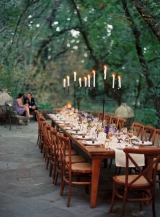 banquet table wedding reception