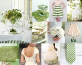 green-striped-wedding