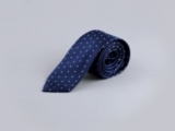 Navy Blue Dot Tie
