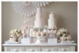 Pink and cream Dessert and Cake Table FIona Kelly Photography Reverie Magazine 19