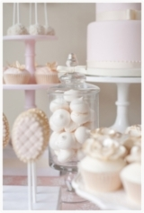 Pink and cream Dessert and Cake Table FIona Kelly Photography Reverie Magazine 10