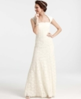 Re-Embroidered Lace Wedding Dress