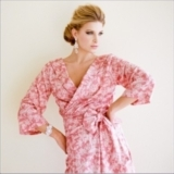 Knee Length Scoop Back Robe Lovely No. 1
