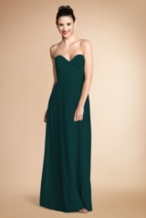 Donna Morgan Bridesmaids Lauren Sweetheart Neckline Gown