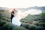 sunset lavender bridal session | Brooke Bakken Photography