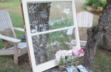 wedding window guestbook