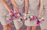 light purple bridesmaid dress
