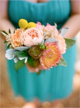 exotic bridesmaid boquet