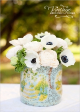 anemones flower arrangement