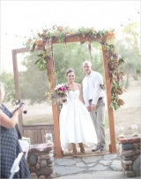 rustic napa wedding