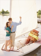 sail boat engagement