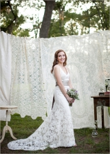 lace weddin gown