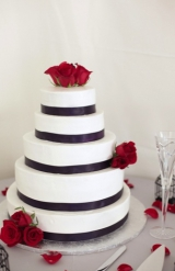 Purple and red modern wedding 27