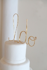 Detail To Love: Modern Cake Topper