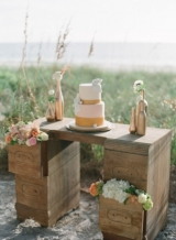 Natural Beach Chic Wedding Inspiration 12