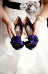 Purple and black modern wedding 11