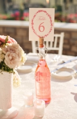 Pink and white shabby chic wedding 27