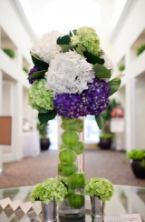 Elegant green and purple wedding 22
