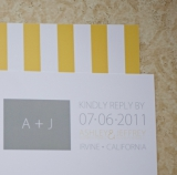 Yellow rustic chic wedding 3