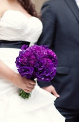 Purple and black modern wedding 20
