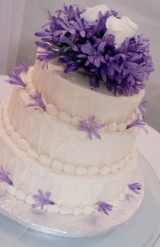 Purple and yellow DIY wedding 29