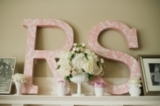 Pink & Gray Vintage Chic Seattle Wedding