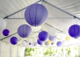 Purple and yellow DIY wedding 24
