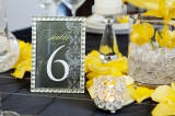 Modern yellow wedding inspiration 12