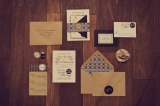 Black and taupe modern wedding inspiration 13