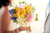 Navy pink and yellow wedding 18-1