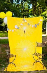 yellow_black_white_stripe_details_wedding_vintage_photobooth_pennant_flag_garland_black_belt_wedding