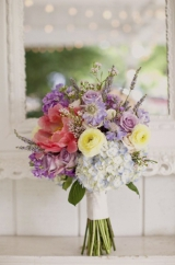 Purple Wildflower Bouquets