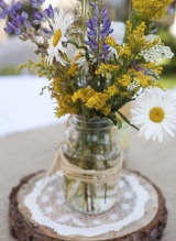 Rustic Wildflowers