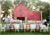 red barn wedding venue