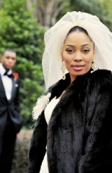 bride in fur coat inspiration