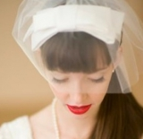 Brides wearing red lipstick | vintage bridal make up | Bridal Musings