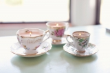 DIY Teacup Candles Tutorial | Bridal Musings