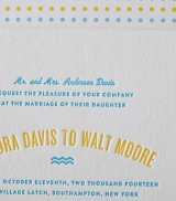 Bella Figura Letterpress Stationery