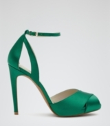 Reiss Cece Crossover Front Sandals