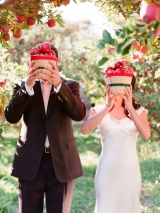 Elizabeth Messina, apple wedding inspiration